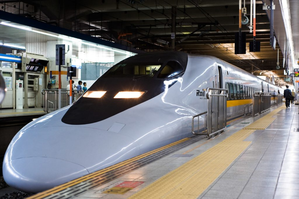 Japan Testing Train That Travels 249 MPH - Mayfield Recorder